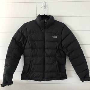 Women's North Face Black Puffer Jacket Size S